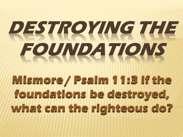 destroying-the-foundations